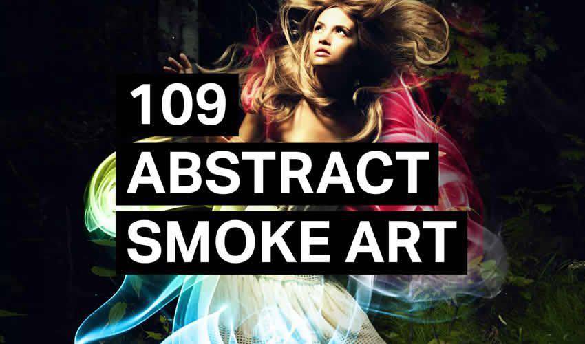 Abstrakt Duman Adobe Photoshop ps fırça fırçası abr paketi