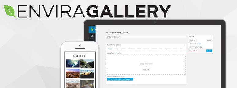Envira Gallery, complementos de cartera