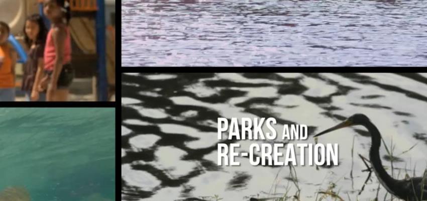 Predložak pokreta za parkove i rekreaciju.