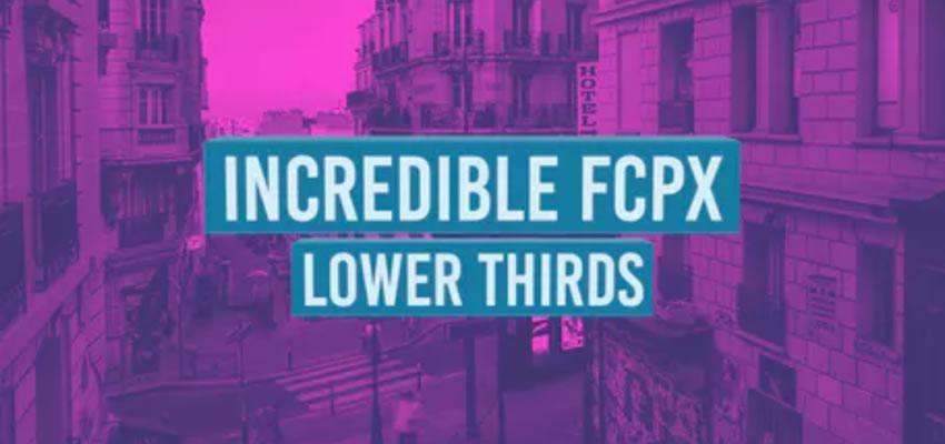 Nevjerojatno donje trećine FCPX-a