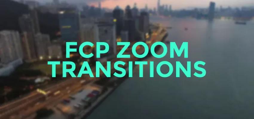 FCP zumiranje kretanja prijelaza