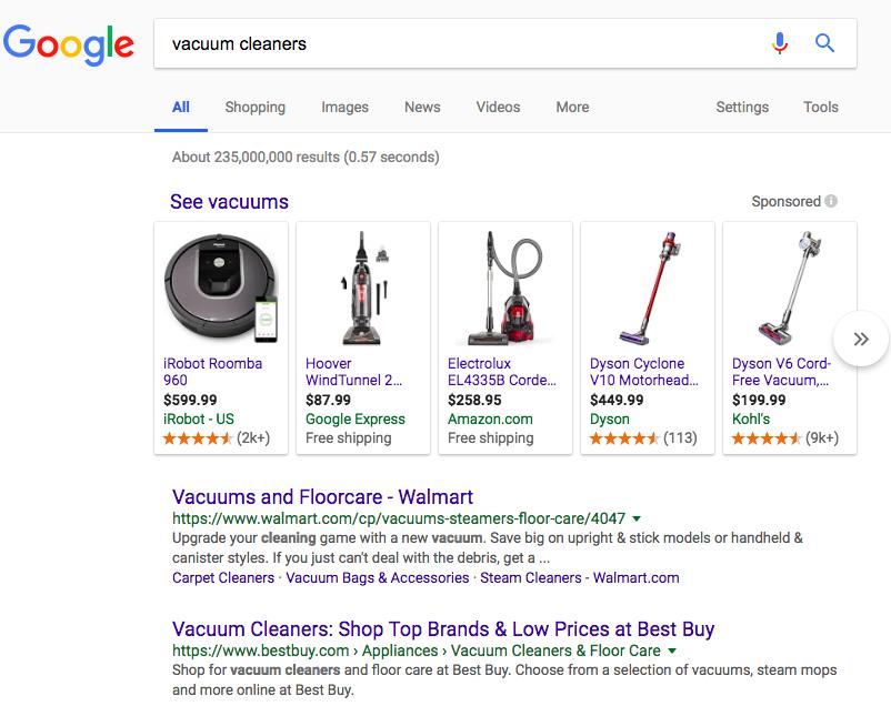 google shopping oglas