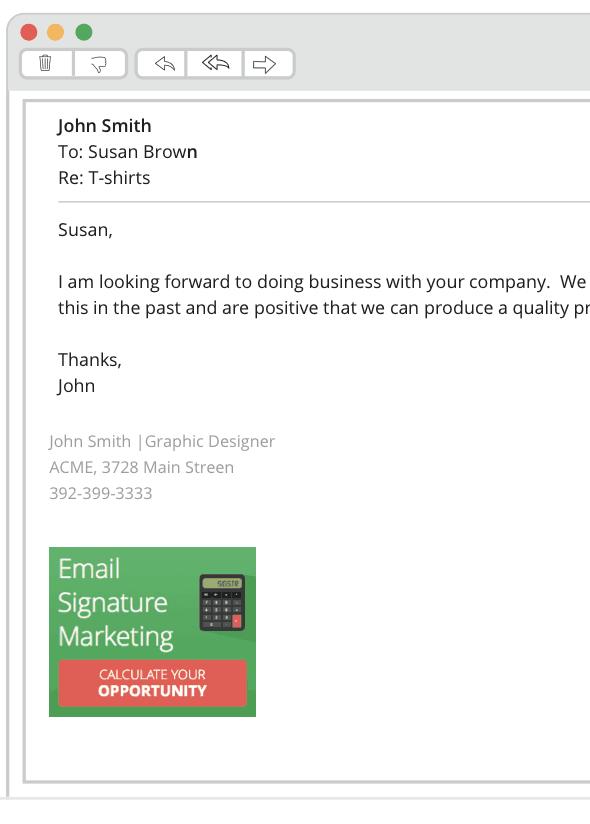 firma de correo electrónico de ventas
