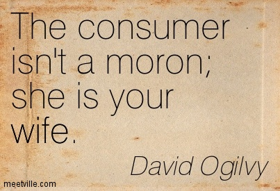 Otac reklame - DAVID OGILVY citat
