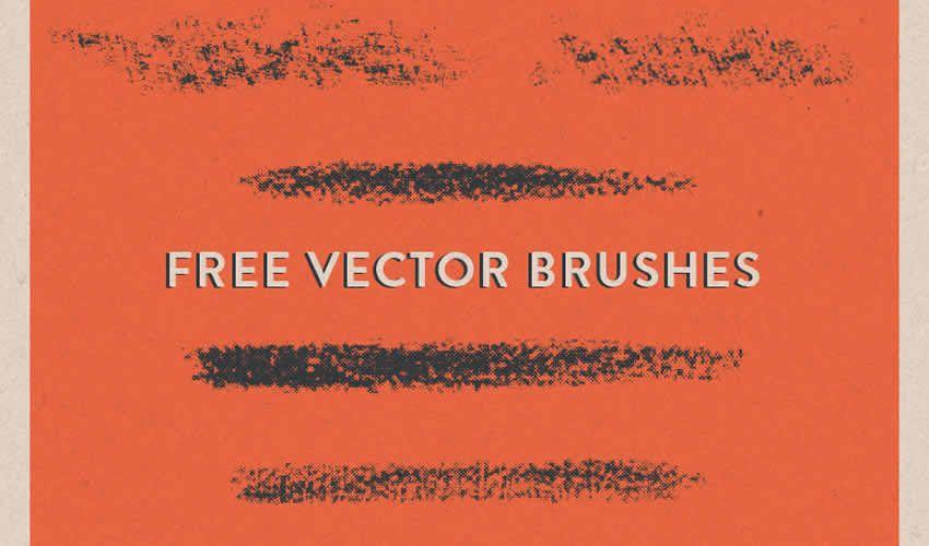 Halftone vektor adobe illüstrator fırçaları fırçalar pulsuz abr