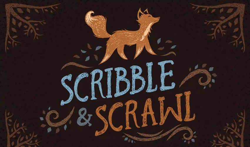 Scribble Scrawl adobe illüstrator fırça fırçaları abr paketi pulsuz