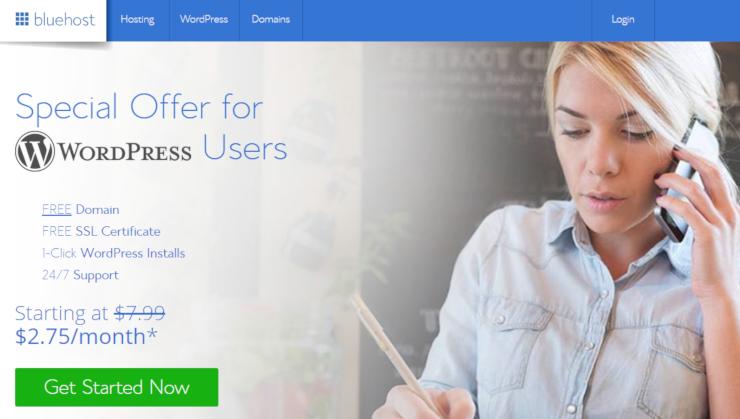start-a-website-bluehost