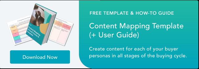 Blog - Plantilla de mapeo de contenido