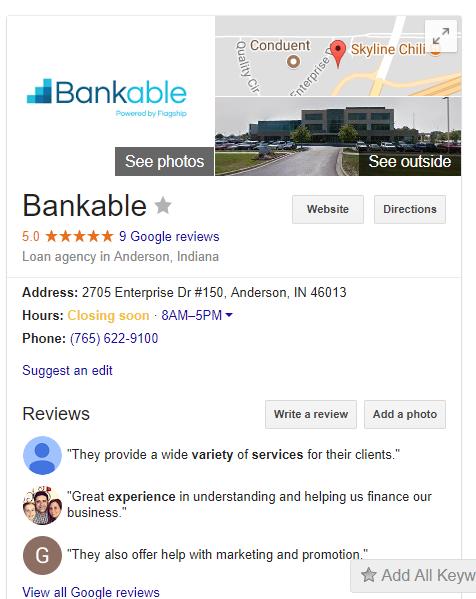 Google mi negocio seo móvil listado