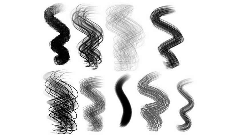 HairBrush Procreate'ə təyin edildi