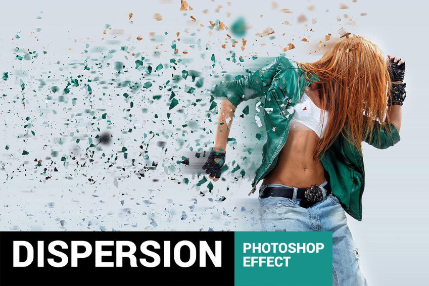 Hành động phân tán Lementum Photoshop