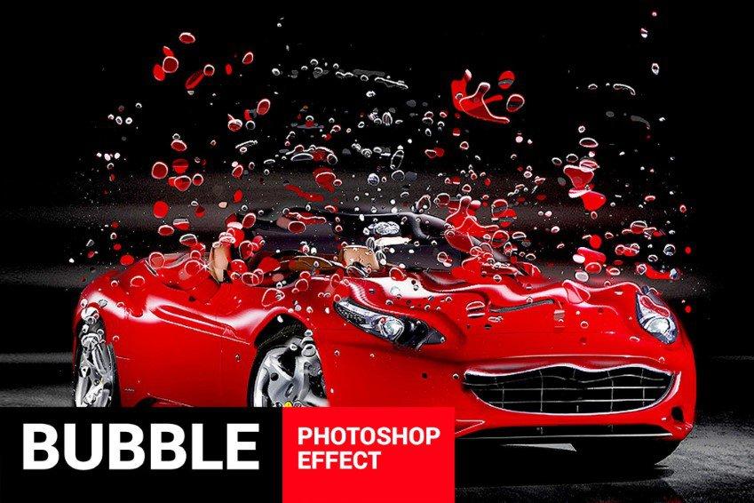 Bubblum Bubble Generator Photoshop hành động