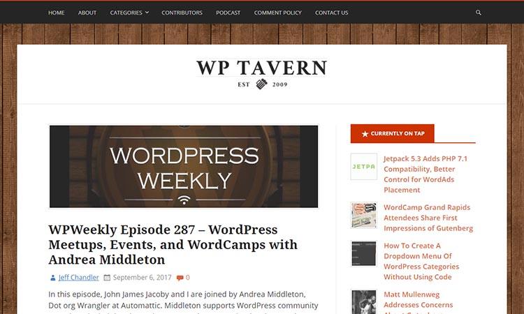 """WordPress-Tavern-WordPress-News """"width ="""" 750 """"height ="""" 450 """"srcset ="""" https://blogging-techies.com/wp-content/uploads/2020/04/1587716771_53_15-de-los-mejores-blogs-de-WordPress-mas-populares-a.jpg 750w, https://themegrill.com/blog/wp-content/uploads/2017/09/WordPress-Tavern-WordPress-News-300x180.jpg 300w """"tamaños ="""" (ancho máximo: 750px) 100vw, 750px """"></p> <p>WP Tavern es una plataforma increíble donde encuentras y aprendes todo sobre cómo puedes desarrollar tus sitios de WordPress. Presenta todas las últimas noticias y actualizaciones, así como un episodio semanal relacionado con el contenido relacionado con la función de WordPress. También tiene categorías que involucran los temas BuddyPress y BBPress, así como ICYMI.</p> <p>Una de sus mejores características es que puedes pasar el rato con otros usuarios de WordPress para entablar debates relacionados con tus temas en cuestión. Una de las muchas razones, este sitio es uno de los mejores blogs de WordPress.</p> <p><strong>Twitter </strong></p> <p><strong>Algunos de los mejores bloggers de WordPress en WP Tavern: </strong></p> </p> <h2>Blog de WPExplorer</h2> <p><img class="""
