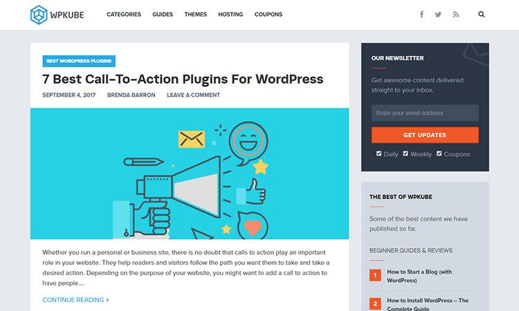 """WordPress-Themes-Plugins-Reviews-Tutorials-WPKube """"width ="""" 750 """"height ="""" 450 """"srcset ="""" https://themegrill.com/blog/wp-content/uploads/2017/09/WordPress-Themes-Plugins -Reviews-Tutorials-WPKube.jpg 750w, https://themegrill.com/blog/wp-content/uploads/2017/09/WordPress-Themes-Plugins-Reviews-Tutorials-WPKube-300x180.jpg 300w """"tamaños ="""" (ancho máximo: 750px) 100vw, 750px """"></p> <p>WPKube es otro sitio de WordPress que se ocupa de casi todas las categorías de un principiante de WordPress. Encontrará tutoriales para principiantes, así como guías para profesionales para una mejor comprensión. Aparte de eso, este sitio también hace listados y artículos comparativos para que los usuarios obtengan lo mejor de WP.</p> <p>Ya sea que desee plantillas o complementos para su blog, también los encontrará aquí. También encontrará reseñas detalladas sobre diferentes productos de WP. Sin mencionar sus increíbles contenidos en Consejos y trucos sobre WordPress. Con todo esto, WPKube es uno de los mejores blogs de WordPress que encontrarás en Internet.</p> <p><strong>Twitter </strong></p><div class='code-block code-block-9' style='margin: 8px auto; text-align: center; display: block; clear: both;'> <div data-ad="""