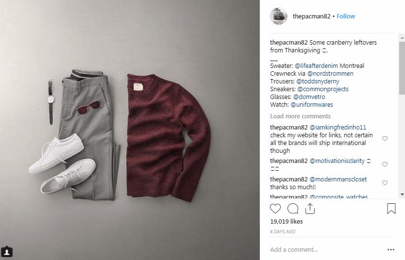 Phil Cohen Influenciadores de la moda de Instagram