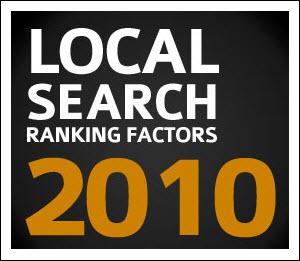 Búsqueda local Factores de clasificación 2010 Investigación