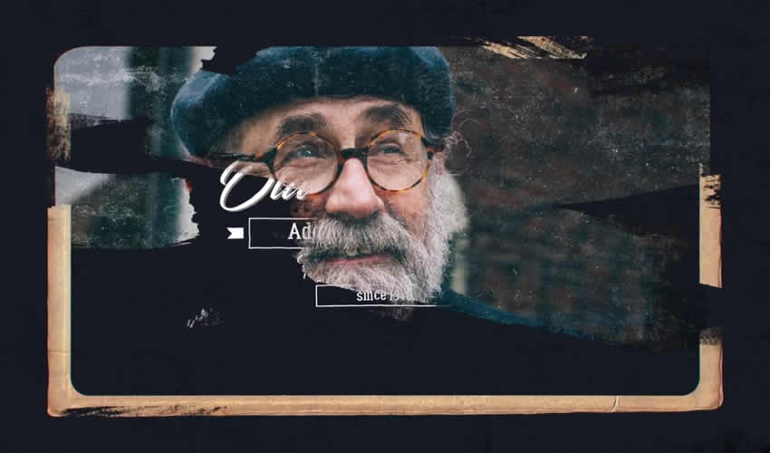 presentación de diapositivas galería animación ae adobe plantilla de efectos diseño de movimiento archivos de proyecto video película gratis