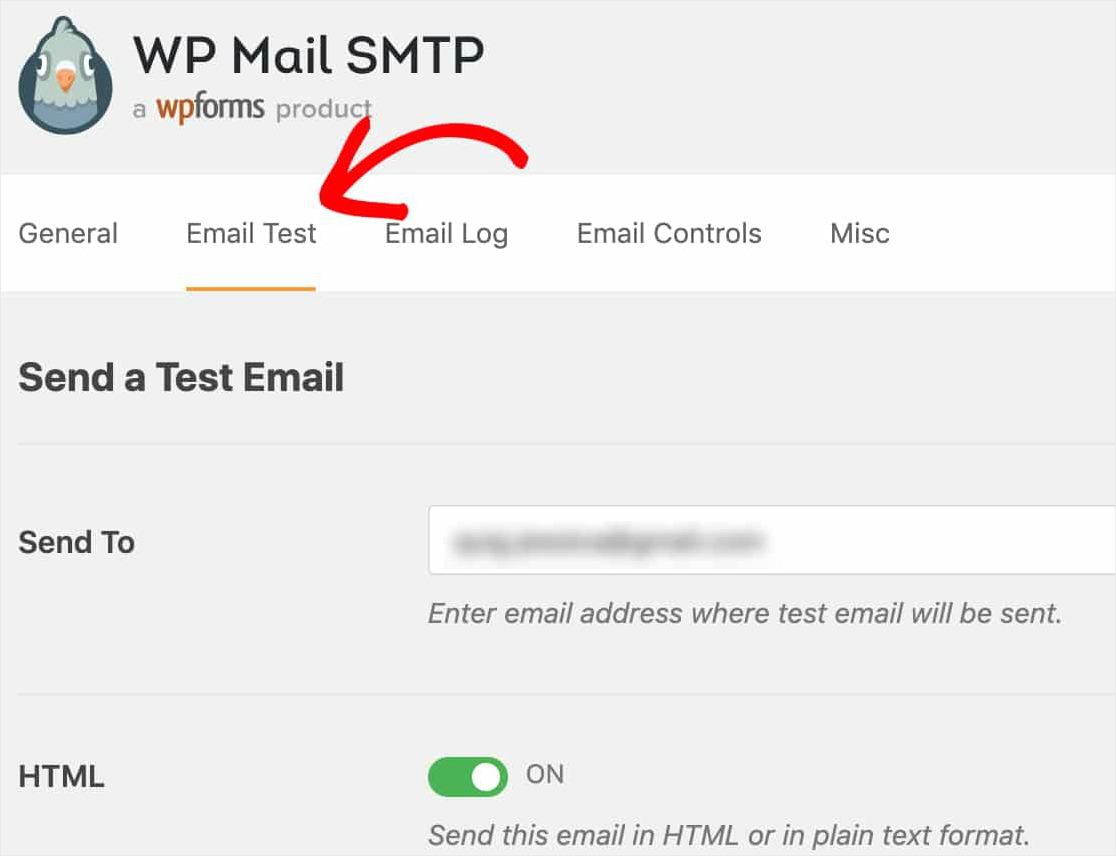 arreglando el formulario de contacto de wordpress no enviando correo electrónico con wp mail smtp enviar prueba