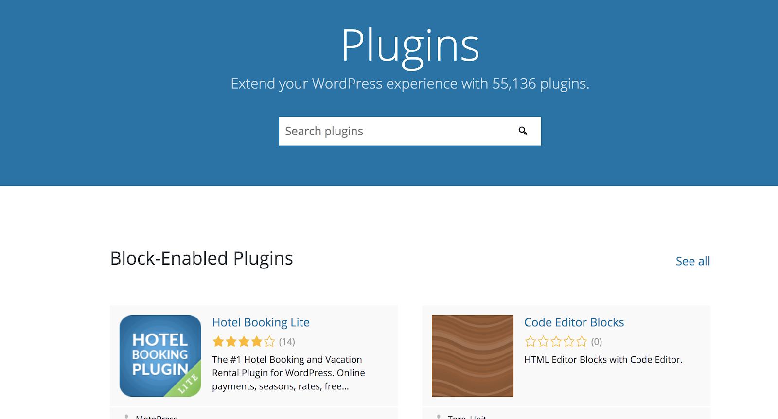 ¿Qué es una definición de complemento de WordPress?
