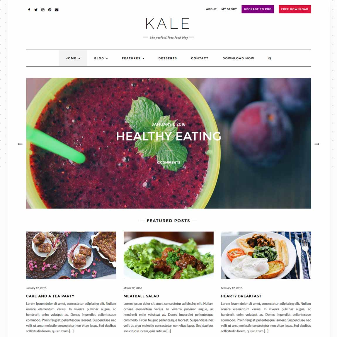 kale-minimalist-wordpress-themes-templates