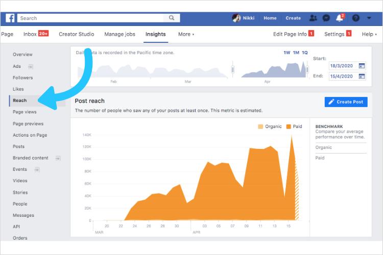 Facebook  Alcanzar