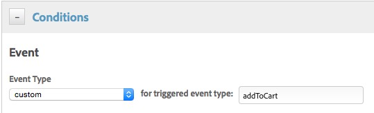 Tipo de evento personalizado
