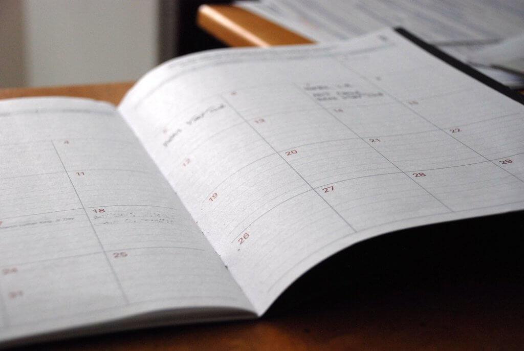 Ideas de publicaciones de blog Comparta su horario