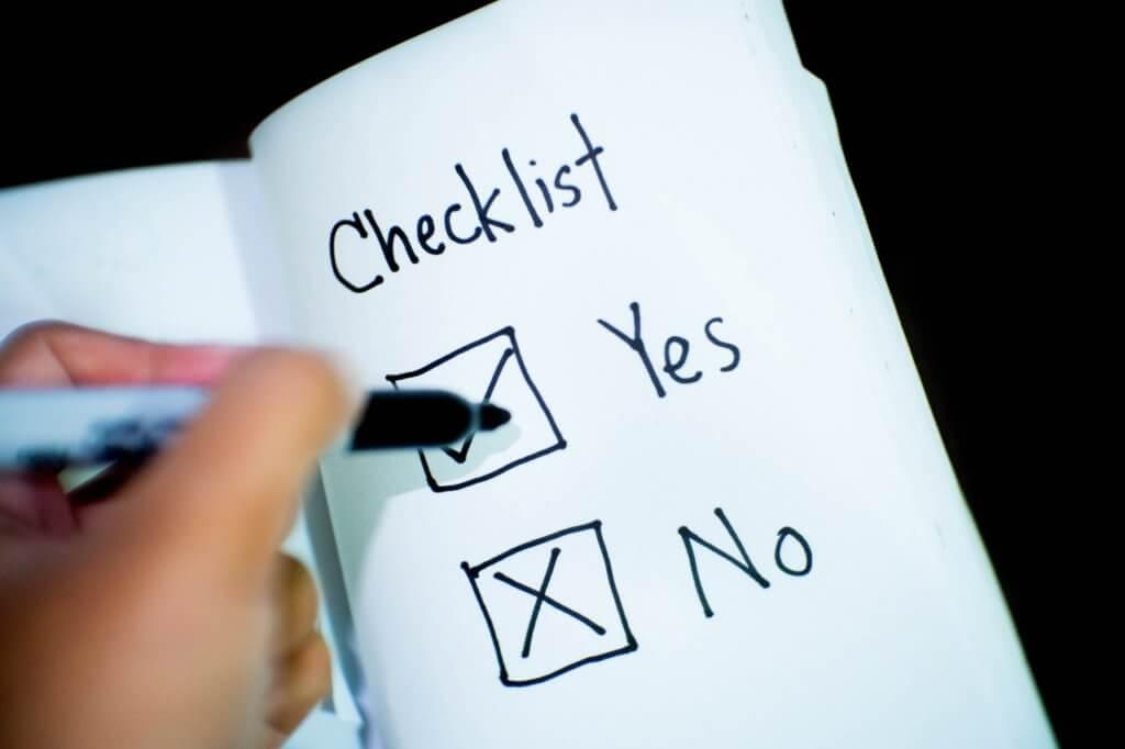 Blog Post Ideas Checklist