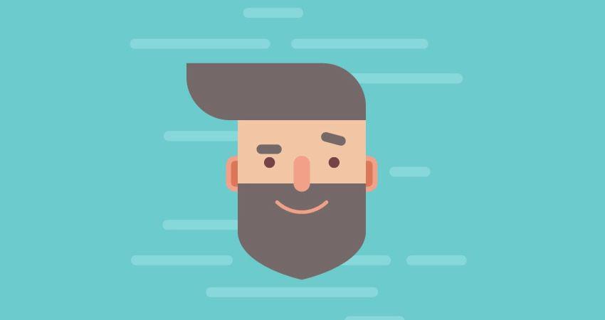 Cómo diseñar un hermoso personaje de Flat Hipster adobe illustrator tutorial