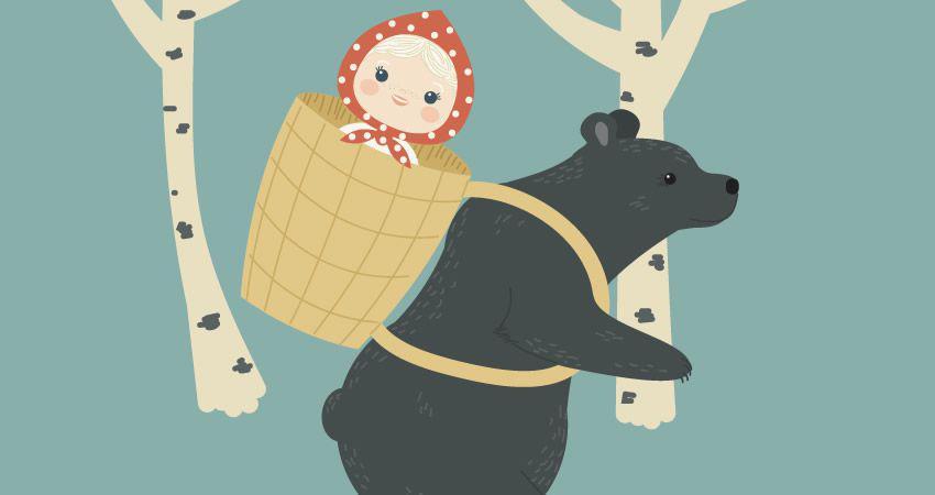 Cómo crear el tutorial de adobe Illustrator de Masha y los personajes del oso