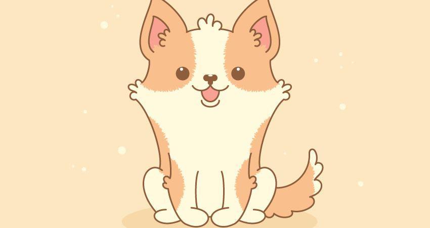Cómo crear un lindo tutorial de adobe illustrator de Welsh Corgi Character