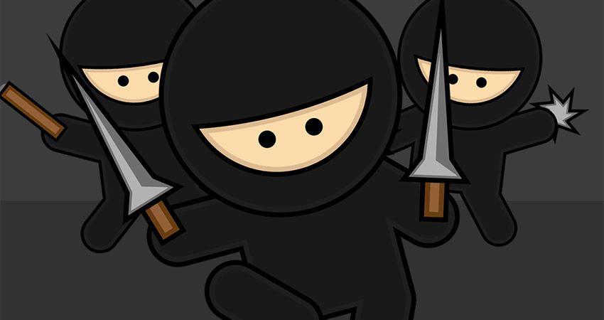 Cómo crear un personaje de Vector Ninja adobe illustrator tutorial