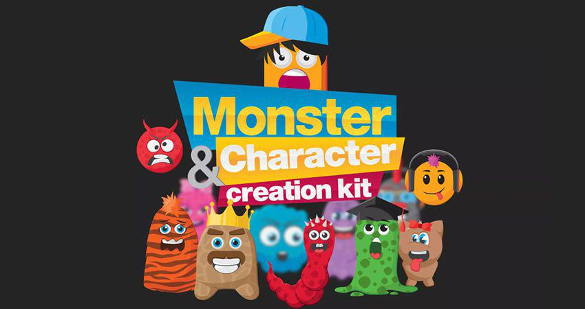 Kit de creación de personajes monstruos