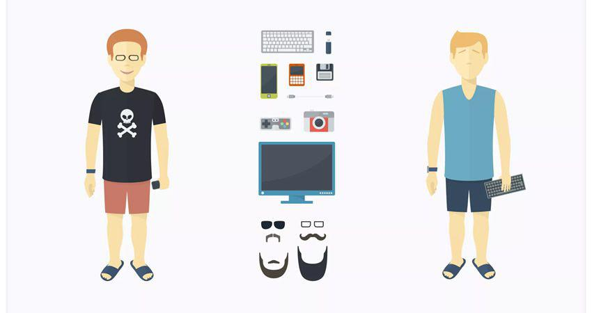 Kit Creador de Personajes de PixityLand