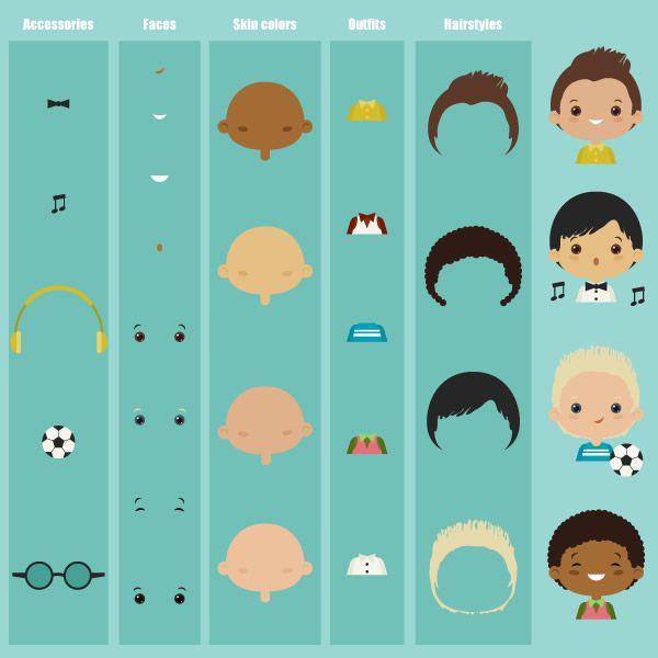 Cómo crear un kit de personajes en Adobe Illustrator adobe illustrator tutorial