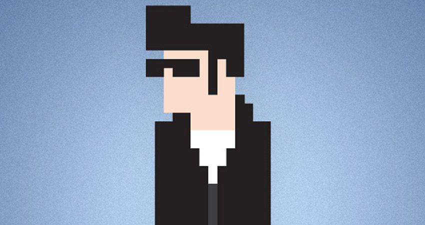Cómo crear un tutorial de adobe illustrator de 8 bits de caracteres de píxeles