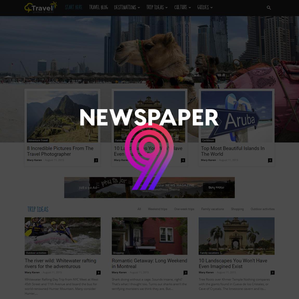 Periódico 9 WordPress Theme - Blog