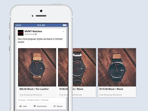 campaña publicitaria de facebook