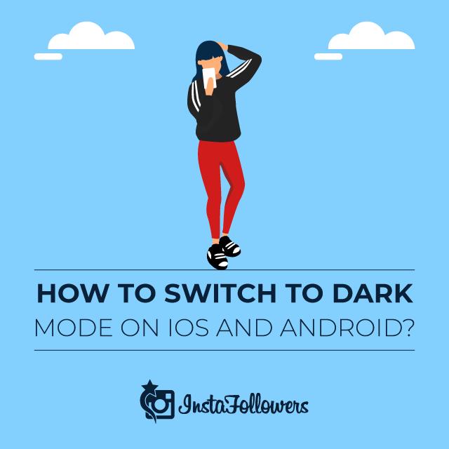 Cómo cambiar al modo oscuro en iOS y Android