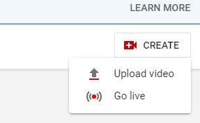 "Captura de pantalla del botón Go Live de YouTube ""width ="" 287 ""style ="" width: 287px; bloqueo de pantalla; margen: 0px automático; ""srcset ="" https://blog.hubspot.com/hs-fs/hubfs/YouTube-Stream-Step-2.jpg?width=144&name=YouTube-Stream-Step-2.jpg 144w, https://blog.hubspot.com/hs-fs/hubfs/YouTube-Stream-Step-2.jpg?width=287&name=YouTube-Stream-Step-2.jpg 287w, https://blog.hubspot.com /hs-fs/hubfs/YouTube-Stream-Step-2.jpg?width=431&name=YouTube-Stream-Step-2.jpg 431w, https://blog.hubspot.com/hs-fs/hubfs/YouTube- Stream-Step-2.jpg? Width = 574 & name = YouTube-Stream-Step-2.jpg 574w, https://blog.hubspot.com/hs-fs/hubfs/YouTube-Stream-Step-2.jpg?width = 718 & name = YouTube-Stream-Step-2.jpg 718w, https://blog.hubspot.com/hs-fs/hubfs/YouTube-Stream-Step-2.jpg?width=861&name=YouTube-Stream-Step- 2.jpg 861w ""tamaños ="" (ancho máximo: 287px) 100vw, 287px"