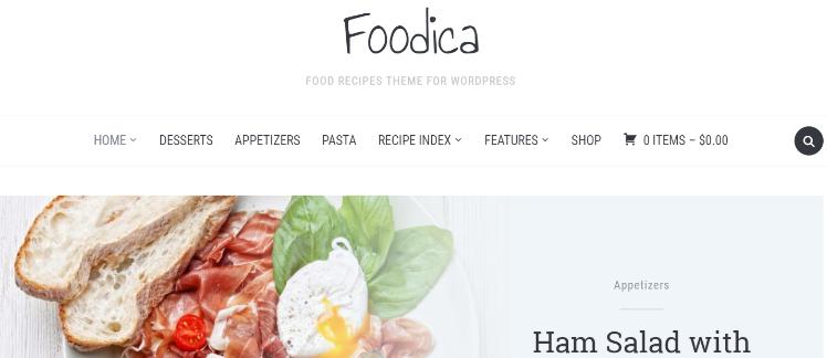 """Foodica """"width ="""" 748 """"height ="""" 324 """"class ="""" alignnone size-full wp-image-226921 """"srcset ="""" https://www.isitwp.com/wp-content/uploads/2018/12/Foodica. png 748w, https://www.isitwp.com/wp-content/uploads/2018/12/Foodica-300x130.png 300w """"tamaños ="""" (ancho máximo: 748px) 100vw, 748px """"></p> <p>Este magnífico tema de estilo revista es perfecto para cualquier tipo de sitio web basado en alimentos o recetas. Con 10 esquemas de color para elegir, podrá hacer coincidir fácilmente su sitio con su marca.</p> <p>Foodica presenta su propio índice de recetas, así como un hermoso control deslizante para las imágenes destacadas. Además, está integrado con WooCommerce para que pueda convertir fácilmente su sitio web en una tienda en línea. Si vende libros de cocina, tarjetas de recetas, comidas preparadas o cualquier otra cosa; ¡Este es el tema perfecto para ti!</p> <p>¡Comience con Foodica hoy!</p> <p><strong>2. Foody Pro</strong></p> <p><img src="""