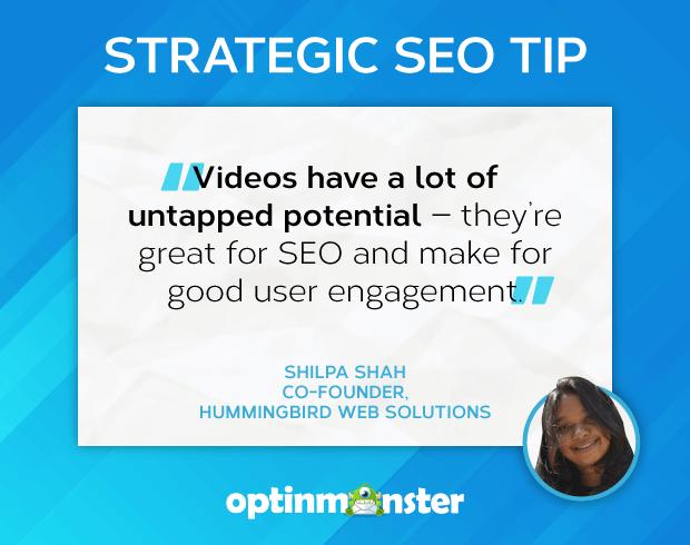 seo tips shilpa shah usa video para la participación del usuario