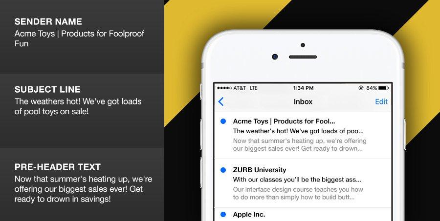 Pruebe las líneas de asunto en sus herramientas de marketing por correo electrónico