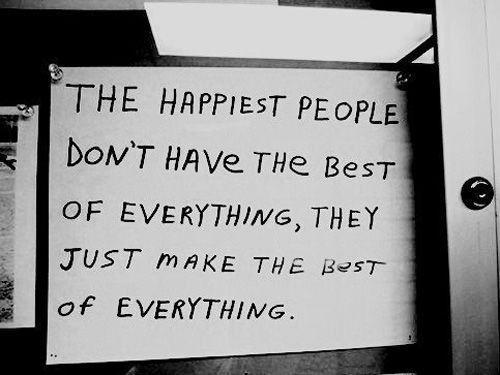 Las personas mas felices