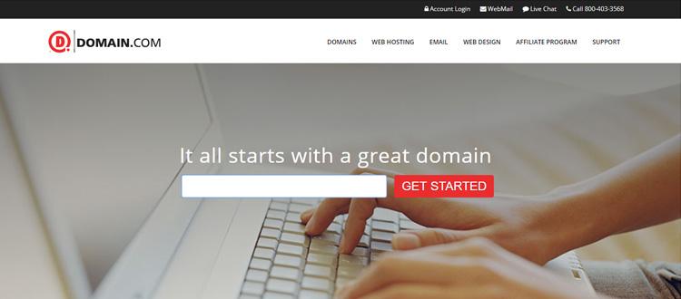 """domain-com-domain-name-company """"ancho ="""" 750 """"height ="""" 330 """"srcset ="""" https://themegrill.com/blog/wp-content/uploads/2017/08/domain-com-domain-name -company.jpg 750w, https://themegrill.com/blog/wp-content/uploads/2017/08/domain-com-domain-name-company-300x132.jpg 300w """"tamaños ="""" (ancho máximo: 750px ) 100vw, 750px """"></p> <p>Domain.com ha sido una de las principales compañías de registro de dominios desde su creación en 2000. La compañía promete ofrecer productos y servicios de la más alta calidad a los precios más asequibles. Junto con los nombres de dominio baratos, también ofrecen servicios de alojamiento web, servicios profesionales de correo electrónico, certificados SSL, diseño web, etc. Sobre todo, se jactan del sistema de gestión de DNS fácil de usar que ofrecen.</p> <p>Puede registrar todos los dominios de nivel superior (TLD) clásicos y más de 25 dominios de nivel superior de código de país (ccTLD) en Domain.com.</p> </p> <h4>Aspectos destacados principales de los dominios de Domain.com:</h4> <ul> <li>com es una empresa de registro de dominios acreditada por ICANN.</li> <li>La Protección de privacidad de dominio está disponible por $ 8.99 por año.</li> <li>Puede crear el servicio de correo electrónico profesional de Google G Suite Email por $ 4.17 / mes.</li> <li> <strong>Tarifa de transferencia de dominio</strong> para el término inicial comienza desde <strong>$ 8.29</strong> para dominios de nivel superior.</li> <li> <strong>Servicios adicionales</strong>: Proteja la seguridad en línea con certificados SSL a partir de $ 31.99 / año.</li> </ul> <h4>Precios de Domain.com para TLD populares (primer año y renovación)</h4> <table class="""
