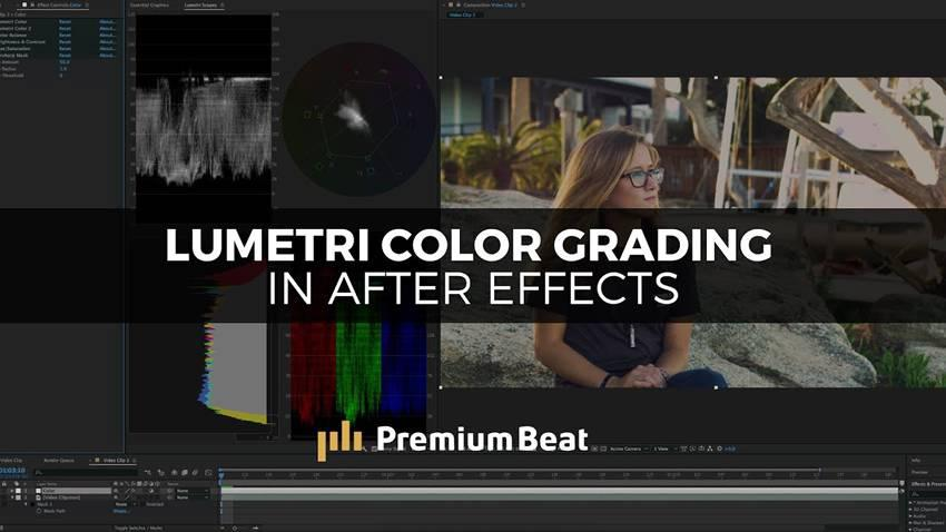 Clasificación de color con los paneles de color de Lumetri