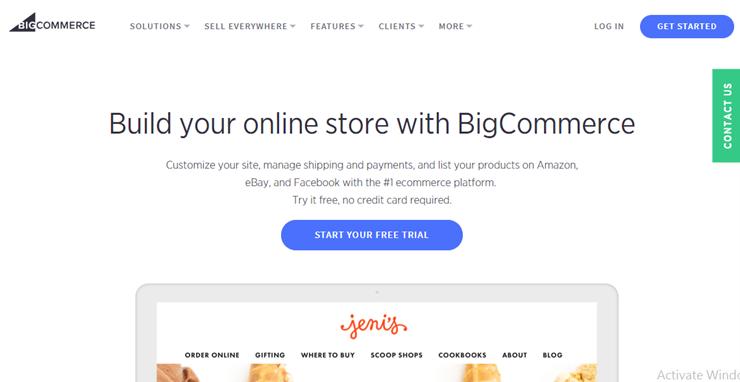 """bigcommerce """"width ="""" 740 """"height ="""" 382 """"class ="""" alignnone size-full wp-image-229345 """"srcset ="""" https://www.isitwp.com/wp-content/uploads/2019/02/bigcommerce. png 740w, https://www.isitwp.com/wp-content/uploads/2019/02/bigcommerce-300x155.png 300w """"tamaños ="""" (ancho máximo: 740px) 100vw, 740px """"><br />BigCommerce es una plataforma alojada para construir tiendas de comercio electrónico y mercados en línea. A diferencia de otras soluciones de alojamiento de comercio electrónico, BigCommerce no requiere que conozca los aspectos técnicos de la creación de una tienda en línea. Todo lo que tiene que hacer es inscribirse en un plan de alojamiento de BigCommerce, crear y enumerar sus productos, y comenzar a venderlos a sus clientes.</p> <p>En comparación con Shopify, BigCommerce le ofrece más funciones listas para usar, como su opción de SEO. Si es un negocio en crecimiento, lo más probable es que el plan Gold sea la opción correcta para usted, ya que permite productos, almacenamiento y ancho de banda ilimitados.</p> <p>Incluso puede integrar BigCommerce en su sitio web de WordPress. De esa manera, puede administrar su contenido con WordPress y administrar su tienda de comercio electrónico con su cuenta de Bigcommerce. Además, consulte esta comparación entre BigCommerce y WooCommerce.</p><div class='code-block code-block-5' style='margin: 8px auto; text-align: center; display: block; clear: both;'> <div data-ad="""