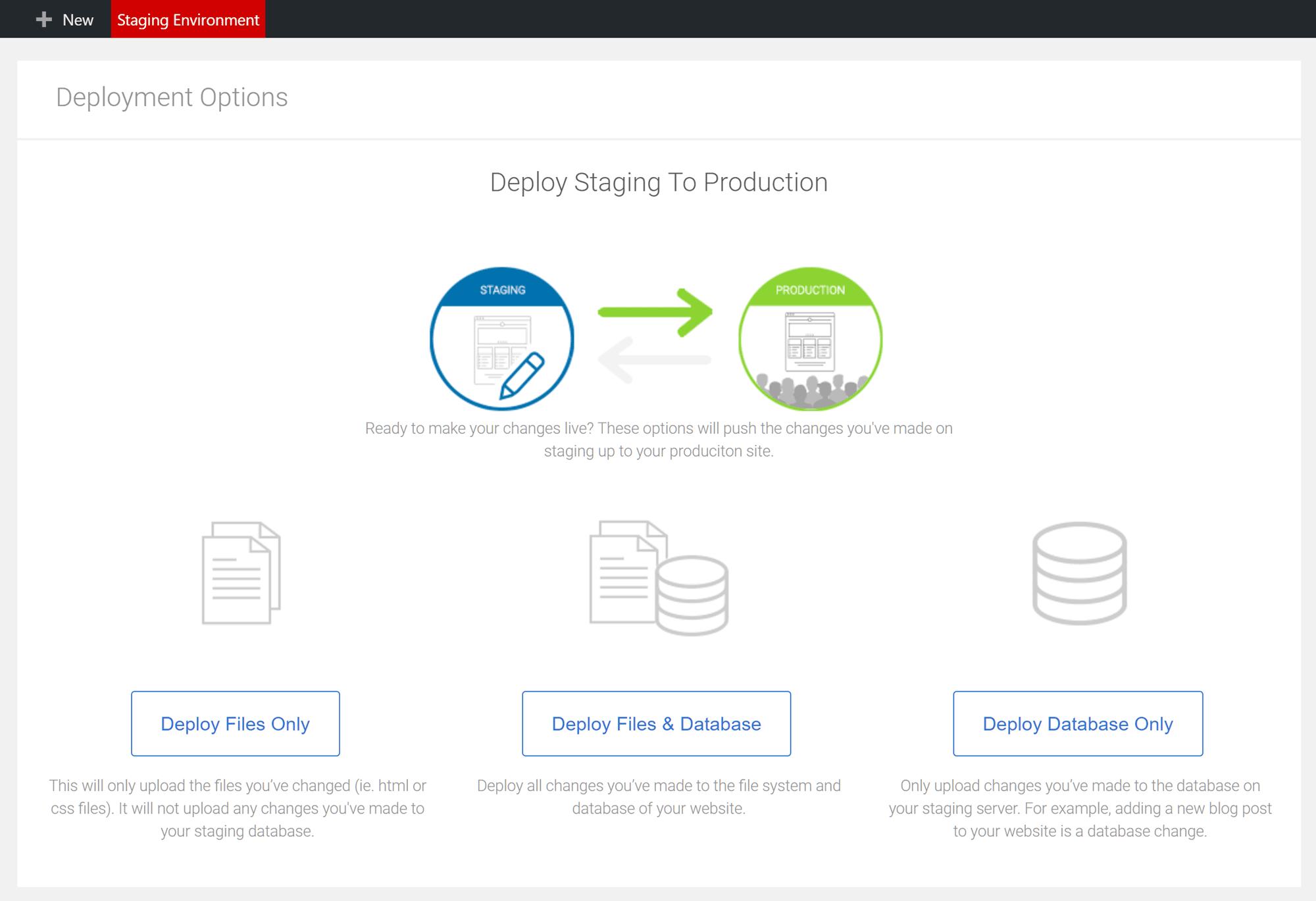 Restaurar el sitio web de WordPress provisional con Bluehost