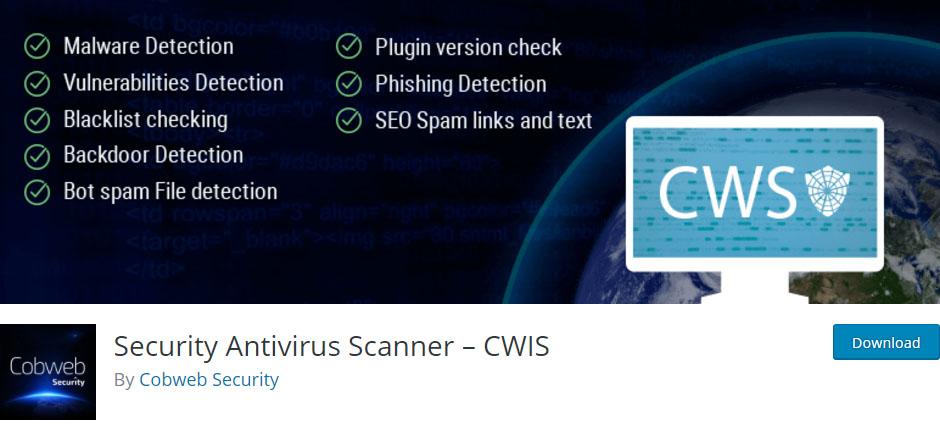 """security-antivirus-scanner-cwis-wp-security-plugin """"width ="""" 940 """"height ="""" 439 """"srcset ="""" https://themegrill.com/blog/wp-content/uploads/2017/07/security-antivirus -scanner-cwis-wp-security-plugin.jpg 940w, https://themegrill.com/blog/wp-content/uploads/2017/07/security-antivirus-scanner-cwis-wp-security-plugin-300x140. jpg 300w, https://themegrill.com/blog/wp-content/uploads/2017/07/security-antivirus-scanner-cwis-wp-security-plugin-768x359.jpg 768w """"tamaños ="""" (ancho máximo: 940px) 100vw, 940px """"></p> <p>Automatice el proceso de escaneo en su sitio web de WordPress con el complemento de seguridad Security Antivirus Scanner. Puede programar este complemento fácil de usar para eliminar malware y spam. Entregará informes diarios a la dirección de correo electrónico registrada.</p><div class='code-block code-block-6' style='margin: 8px auto; text-align: center; display: block; clear: both;'> <div data-ad="""