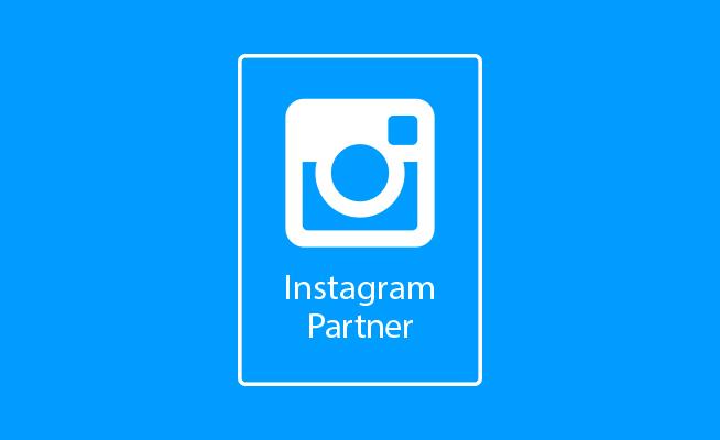 Estamos en el programa de socios de Instagram